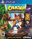 Crash Bandicoot: N. Sane Trilogy (PlayStation 4)